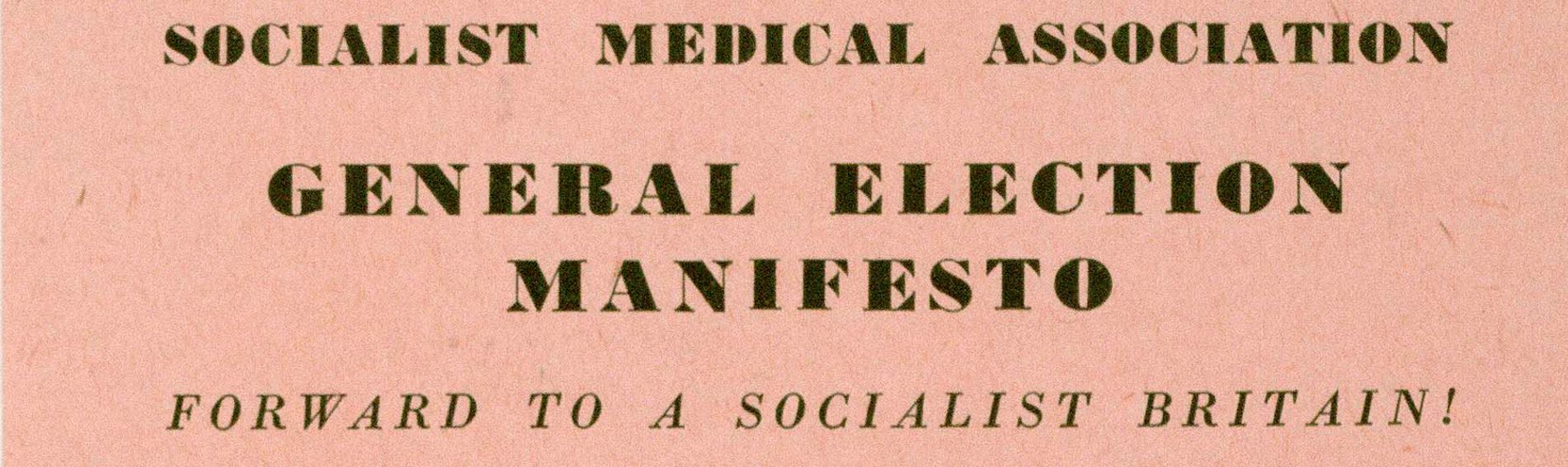Title from Socialist Medical Association pamphlet